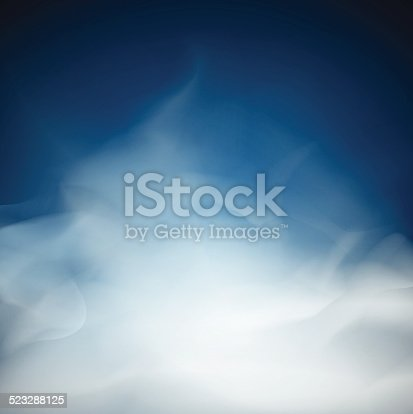 blue Cloud and smoke  backgrounds abstract  unusual illustration