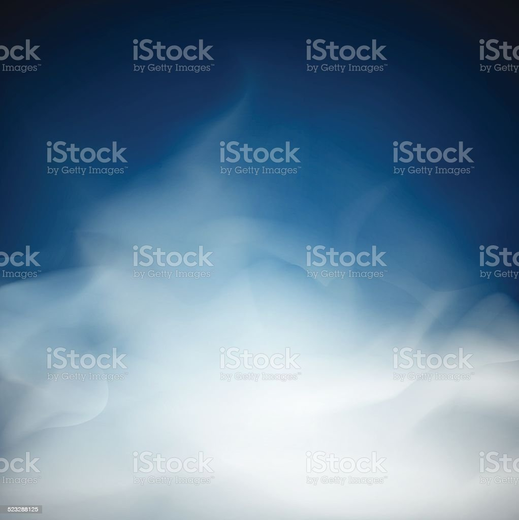 blue Cloud and smoke  backgrounds abstract  unusual illustration vector art illustration