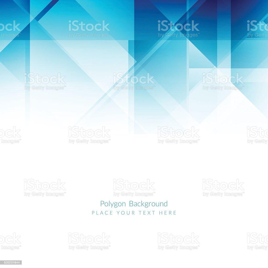Blue color modern background design. vector art illustration