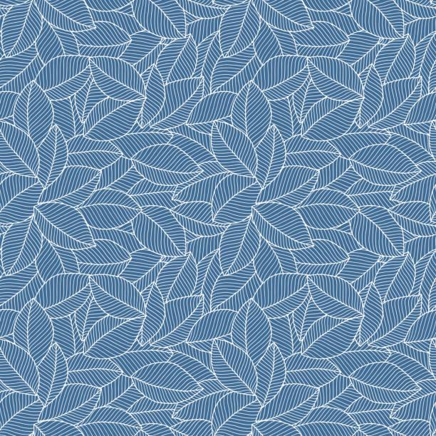 blaue farbe nahtloses muster - tapete stock-grafiken, -clipart, -cartoons und -symbole