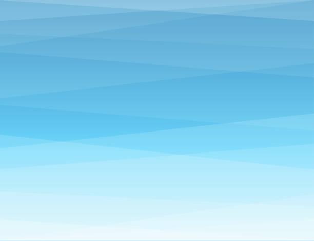 블루 색상 모양 추상적인 배경 평면 벡터 디자인 - sky stock illustrations