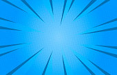 istock Blue colour abstract speed explosion comic Background 1250467453