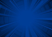 dark blue exploding starburst textured surface background vector illustration