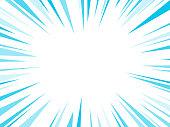 istock Blue Dash Lines Explosion 1132125134