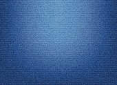 Blue Denim Textile background