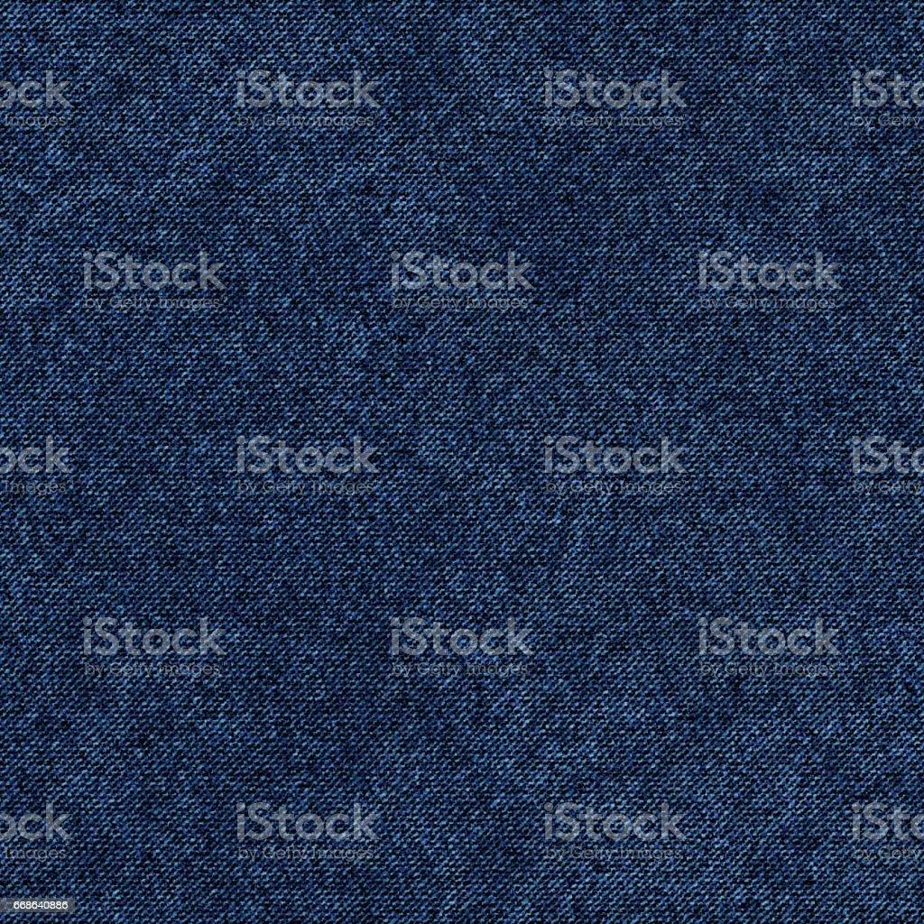 Blue Denim Textile background vector art illustration