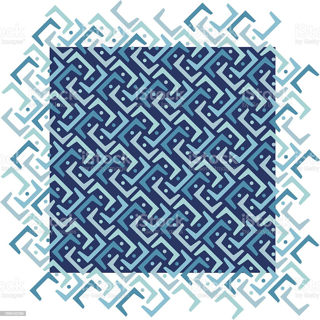 Blue Diagonal Pattern royalty-free blue diagonal pattern stock vector art & more images of 1960