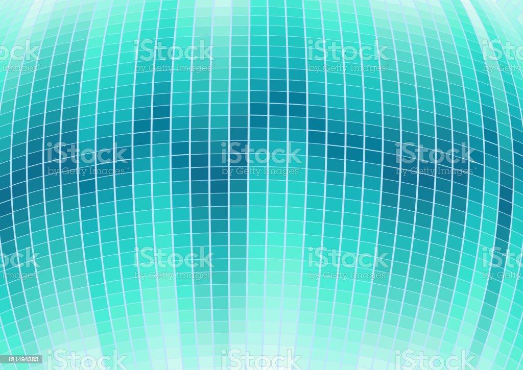 blue digital wave background royalty-free stock vector art