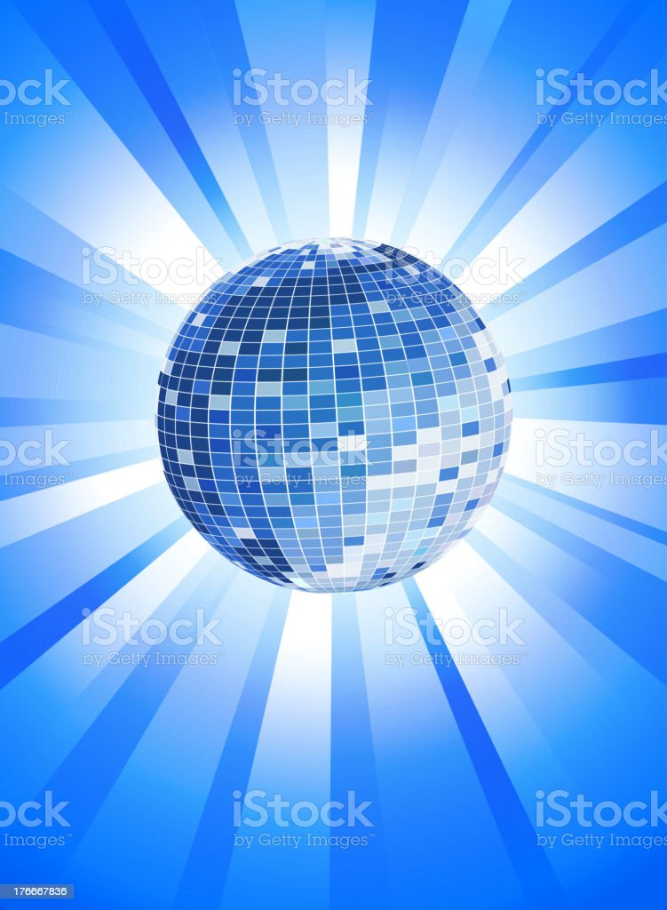 Blue Disco Theme royalty-free blue disco theme stock vector art & more images of abstract