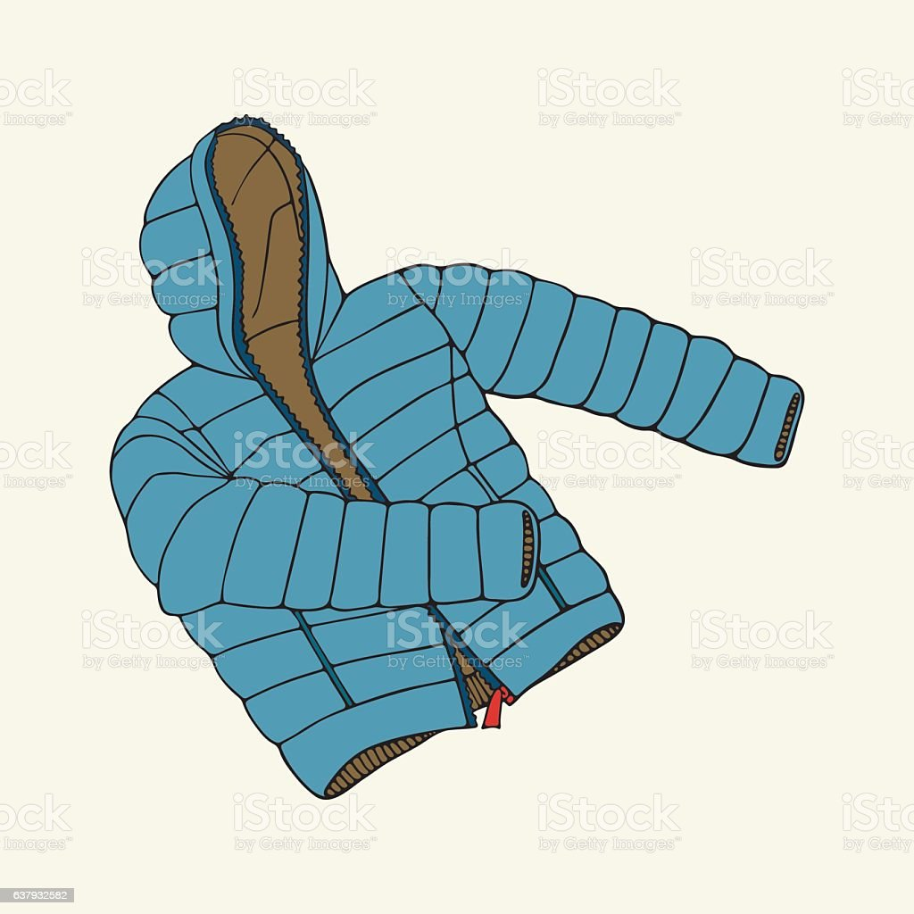 royalty free parka coat clip art vector images illustrations istock rh istockphoto com red jacket clip art straight jacket clip art