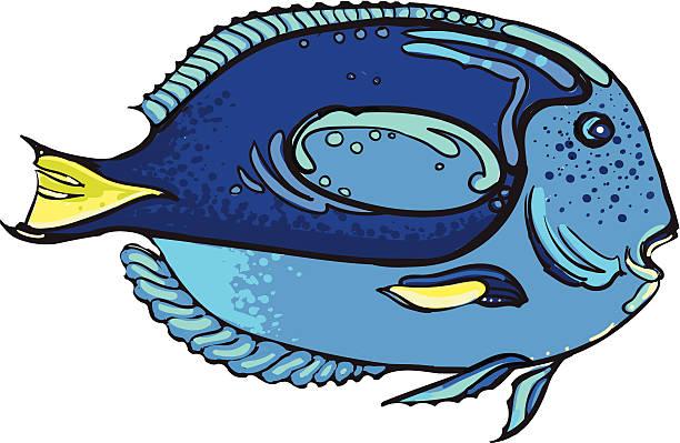 Blue Dream vector art illustration