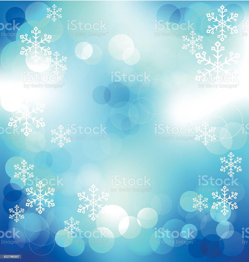 Sfondi Natalizi Eleganti.Blu Elegante Sfondo Astratto Con Bokeh Luci Di Natale Di Notte