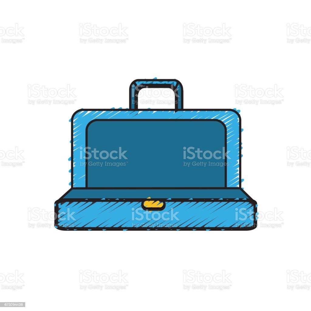 blue elegant suitcase open royalty-free blue elegant suitcase open stock vector art & more images of adult