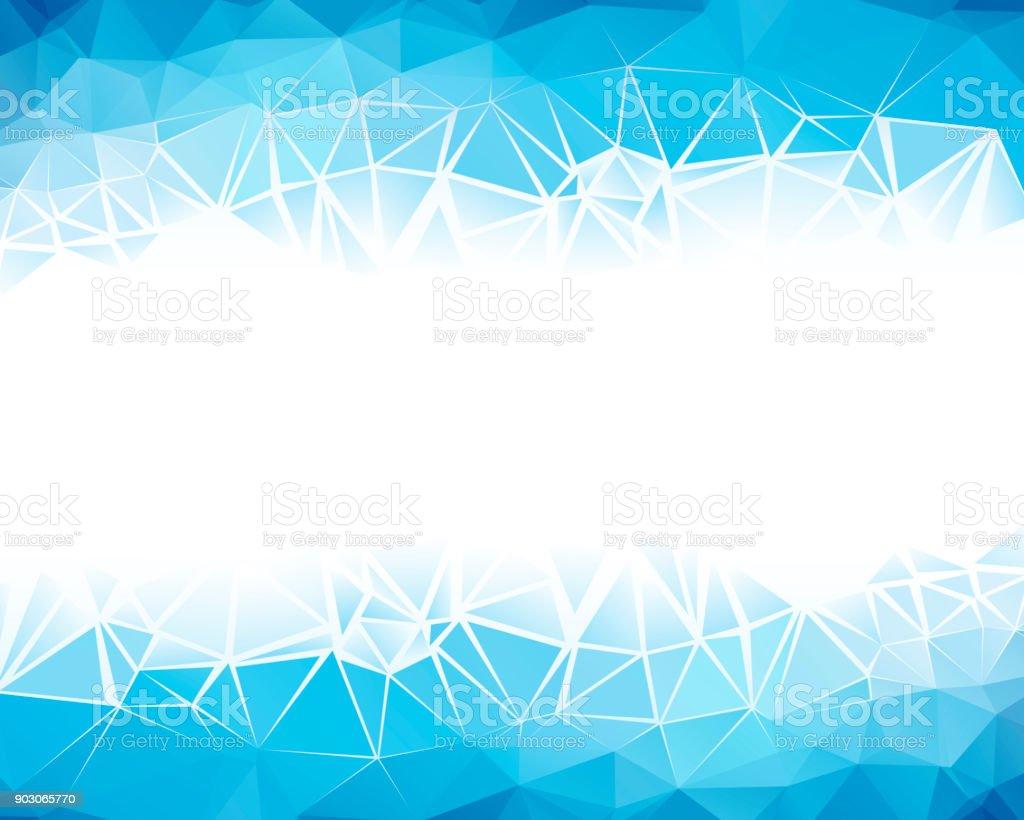 Blue Frame – Vektorgrafik