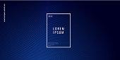 istock Blue geometric background 1296870625