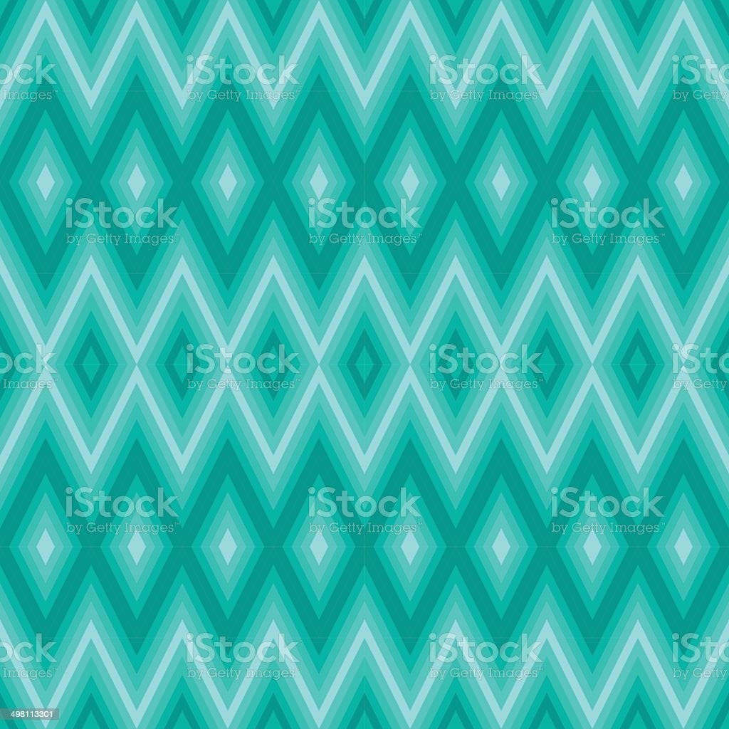 Blue geometric pattern vector art illustration