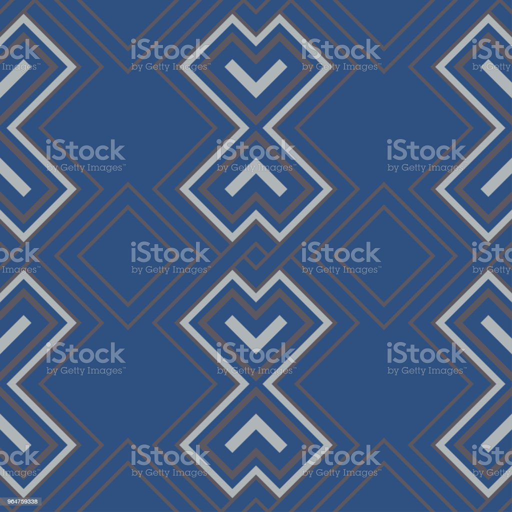 Blue geometric seamless pattern royalty-free blue geometric seamless pattern stock vector art & more images of abstract