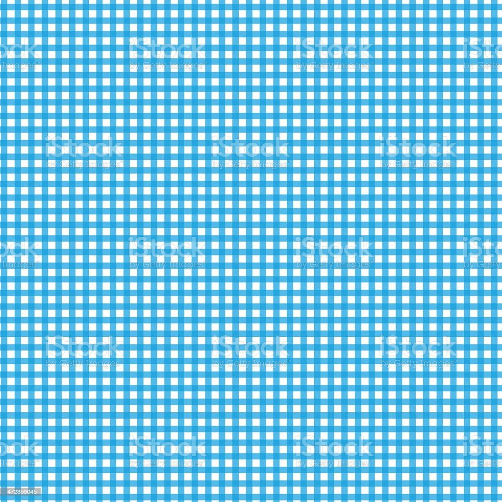 Blue Gingham Checked Fabric royalty-free blue gingham checked fabric stock vector art & more images of blue