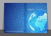 Blue Global Cover design
