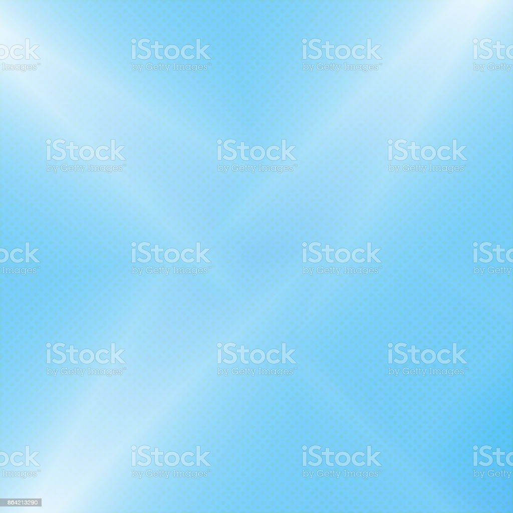 Blue glowing  background. halftone background royalty-free blue glowing background halftone background stock vector art & more images of abstract