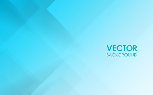 Blue gradation abstract background. Vector illustration.