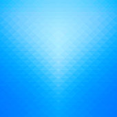 Blue gradient and geometric background.