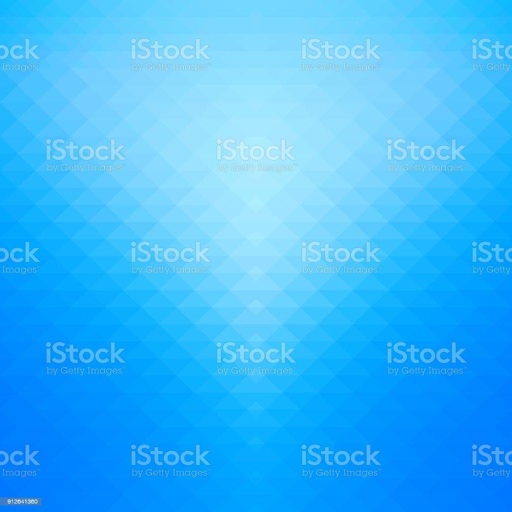 Gradiente azul e fundo geométrico. - ilustração de arte em vetor