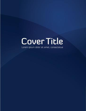 Blue Gradient Cover