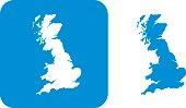 Blue Great Britain Icon