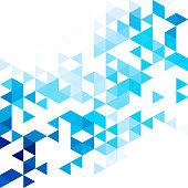 Blue mosaic. Background Creative design Templates