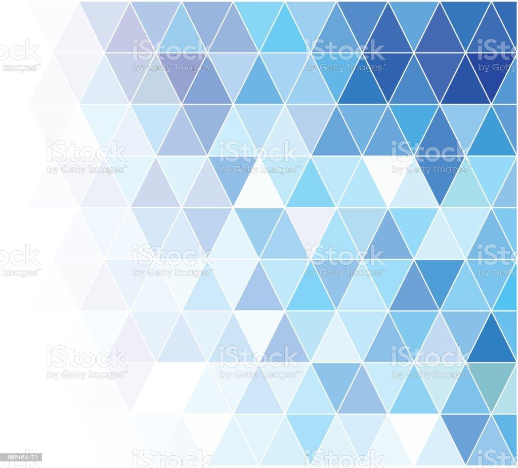 Blue Grid Mosaic Background Creative Design Templates Stock Vector ...