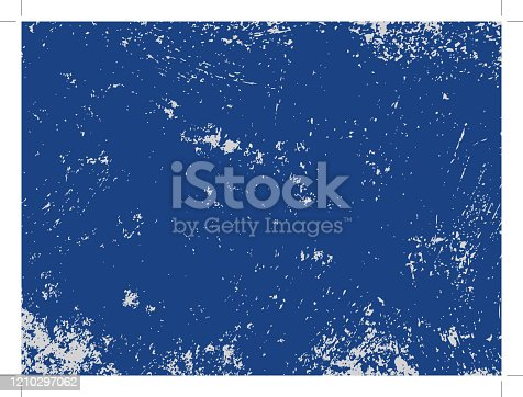istock Blue grunge texture 1210297062