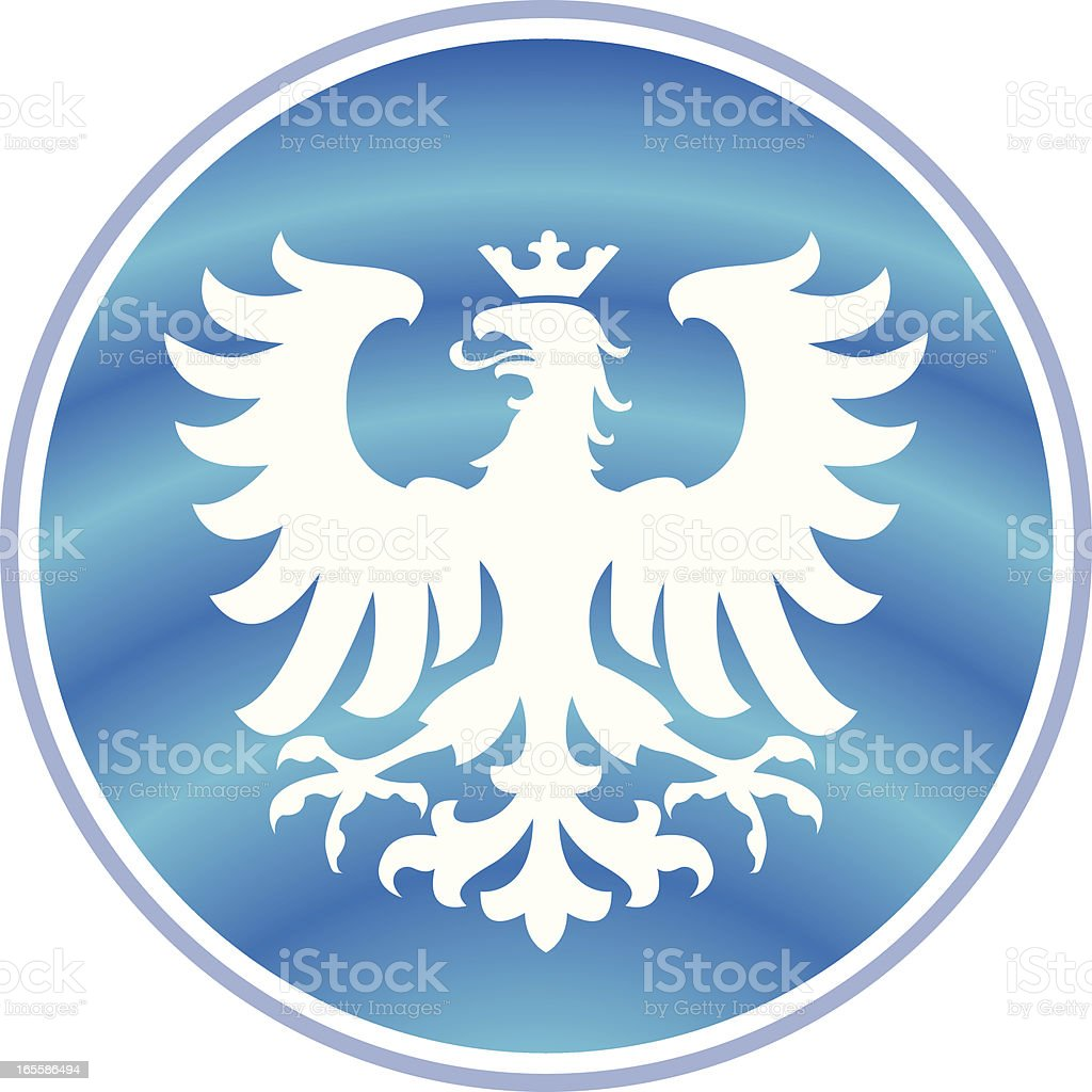 Blue Heraldry royalty-free blue heraldry stock vector art & more images of backgrounds