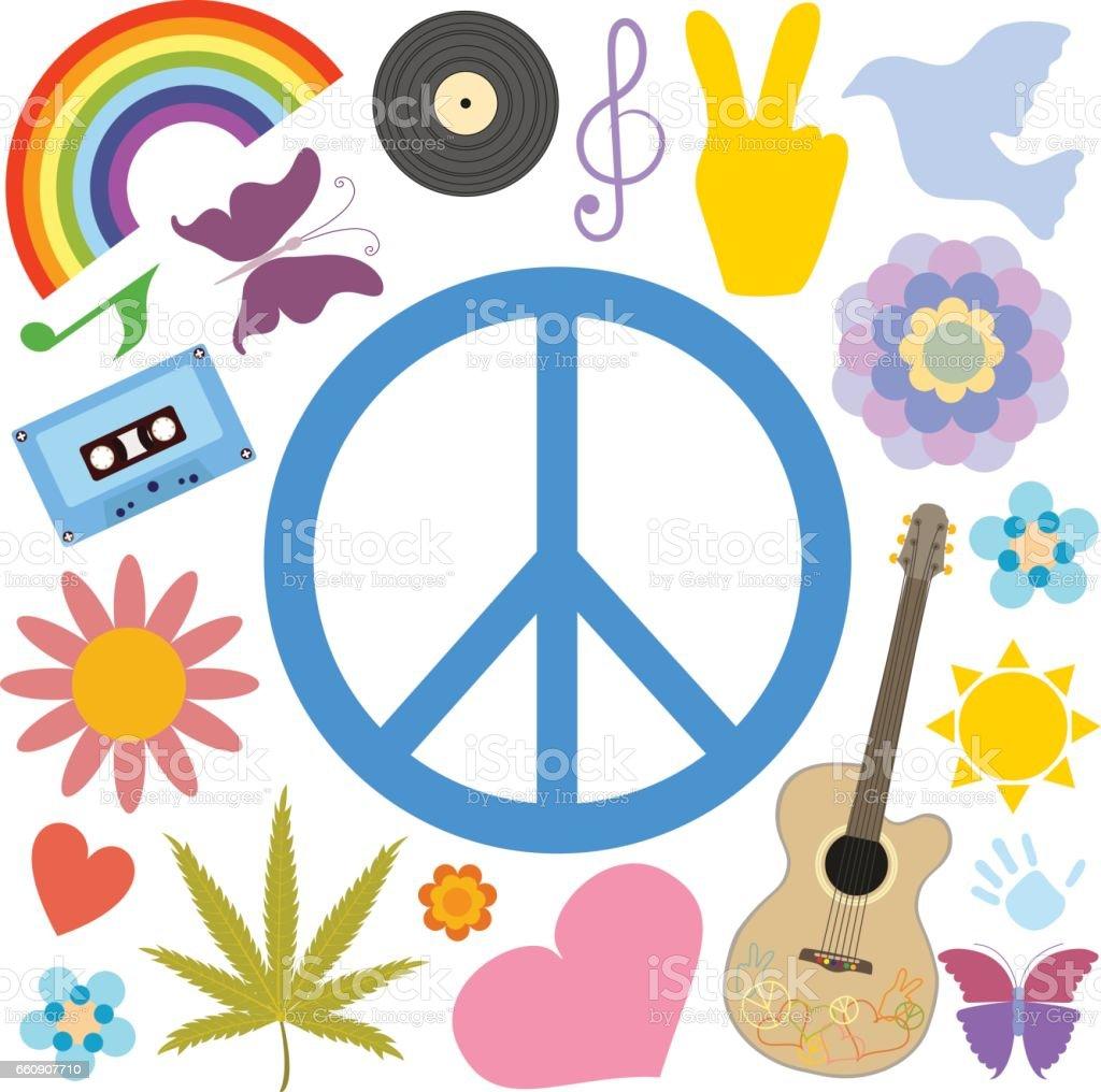 Symbolen duvan kommer med fred
