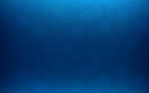 illustrazioni stock, clip art, cartoni animati e icone di tendenza di blue honeycomb abstract background. wallpaper and texture concept. minimal theme - favo