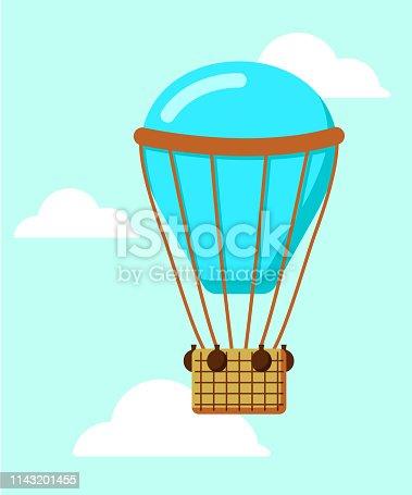 istock blue hot air balloon 1143201455