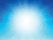 blue ice geometric wallpaper background