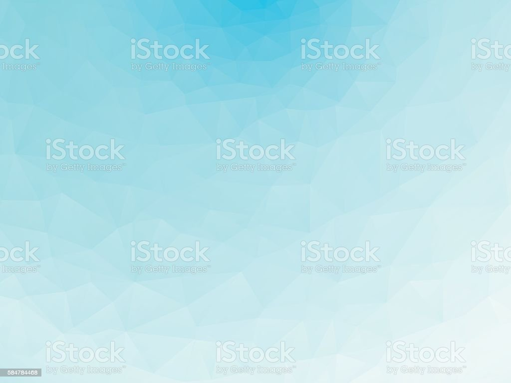 blue ice texture background low poly vector art illustration