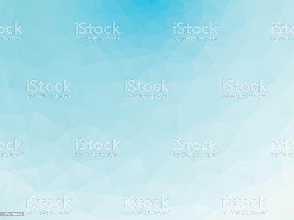 blue ice texture background low poly - ilustración de arte vectorial
