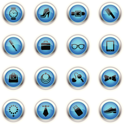 Blue Icons - Accessories