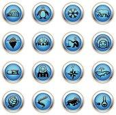 Blue Icons - Arctic Polar