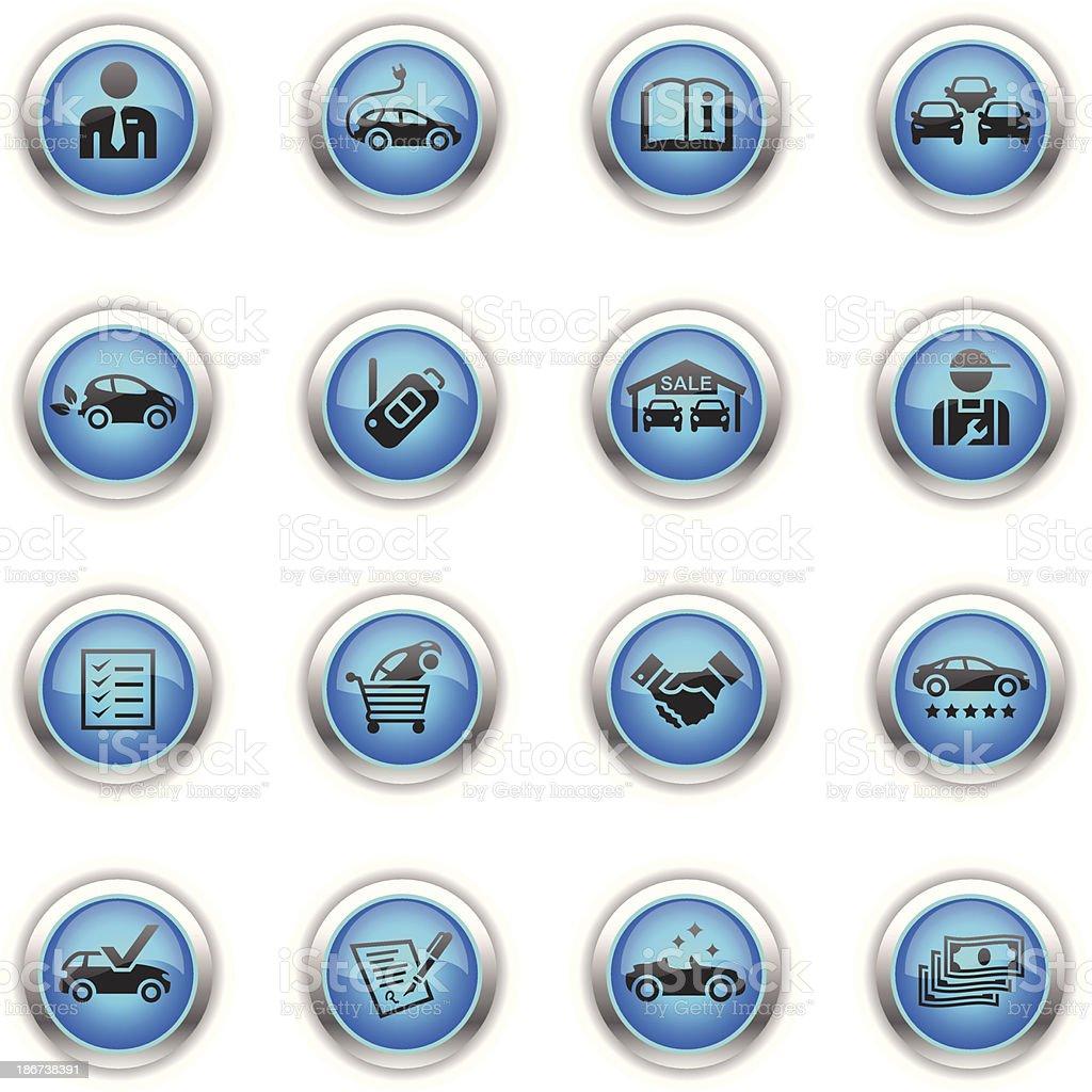 Blue Icons - Car Dealership