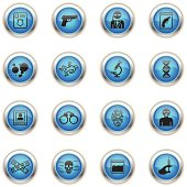 Blue Icons - FBI & Forensics