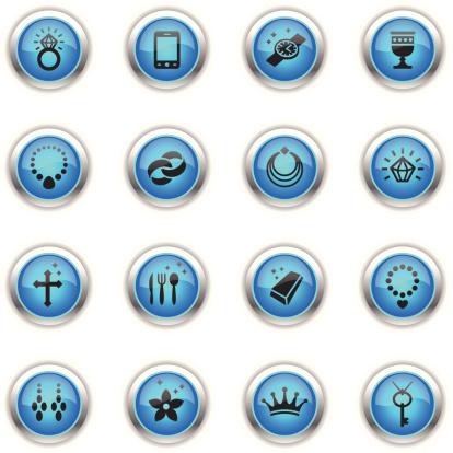 Blue Icons - Jewellery