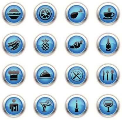 Blue Icons -  Restaurant