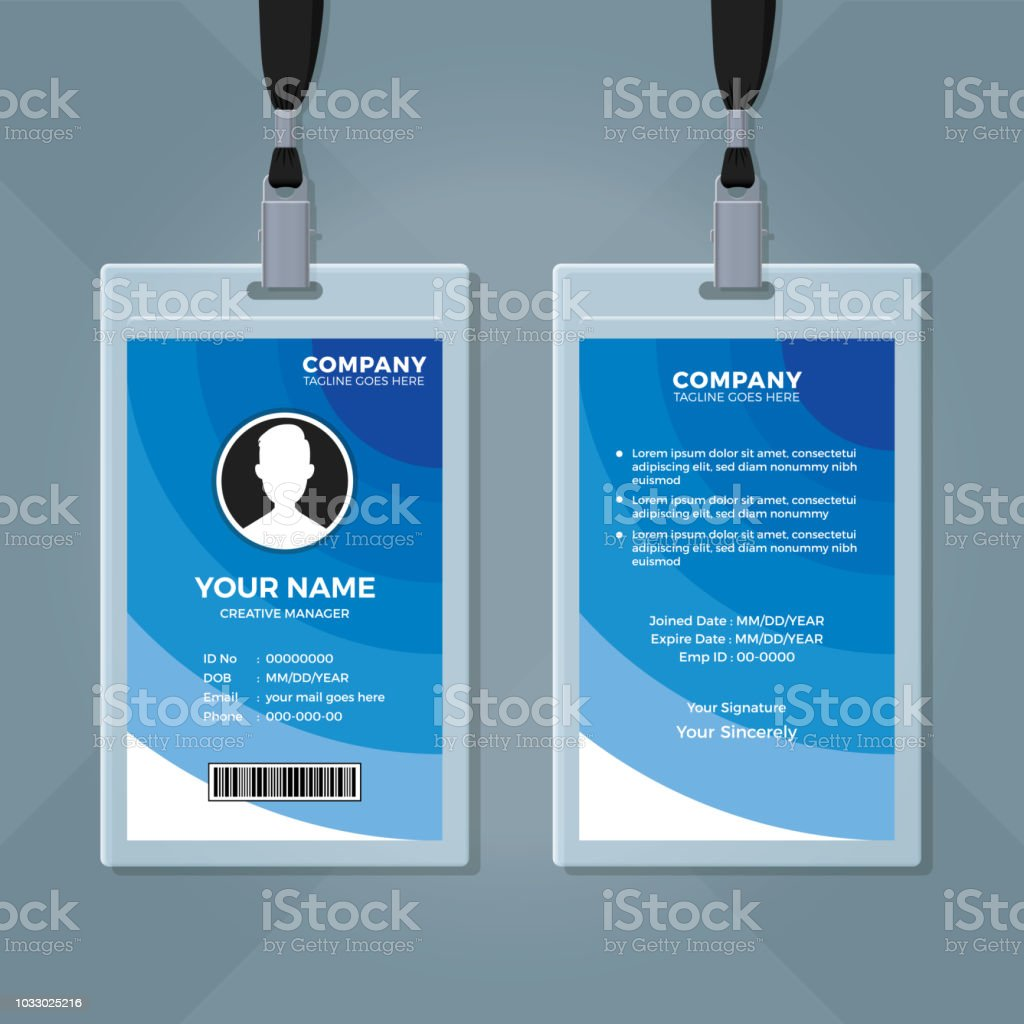 31 blank id card templates psd ai vector eps doc - HD1024×1024