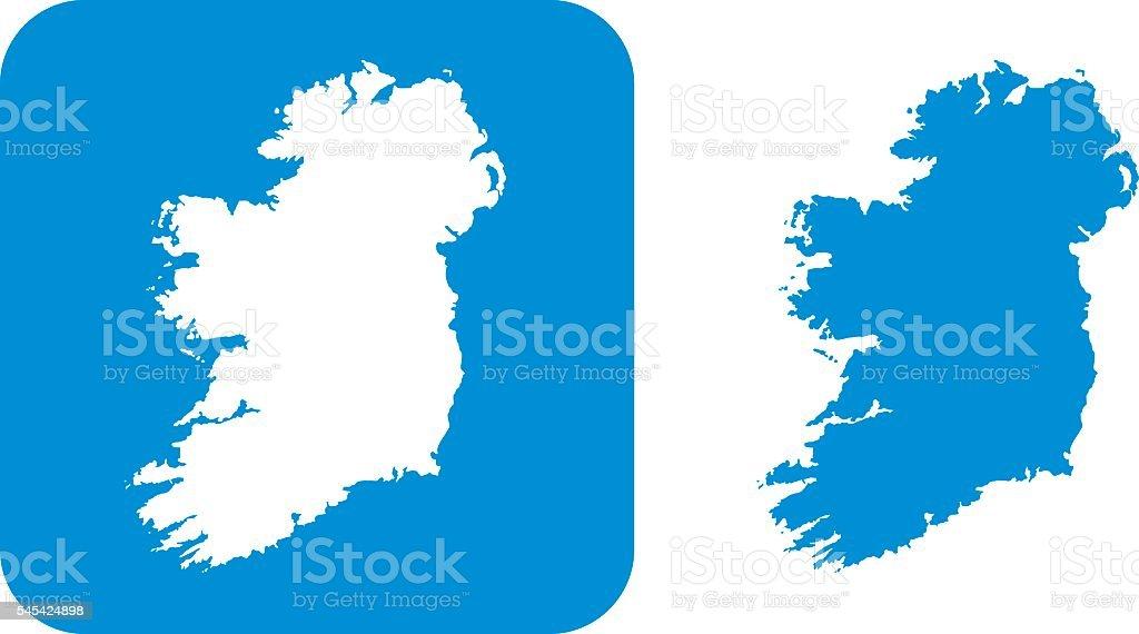 Blue Ireland Icon