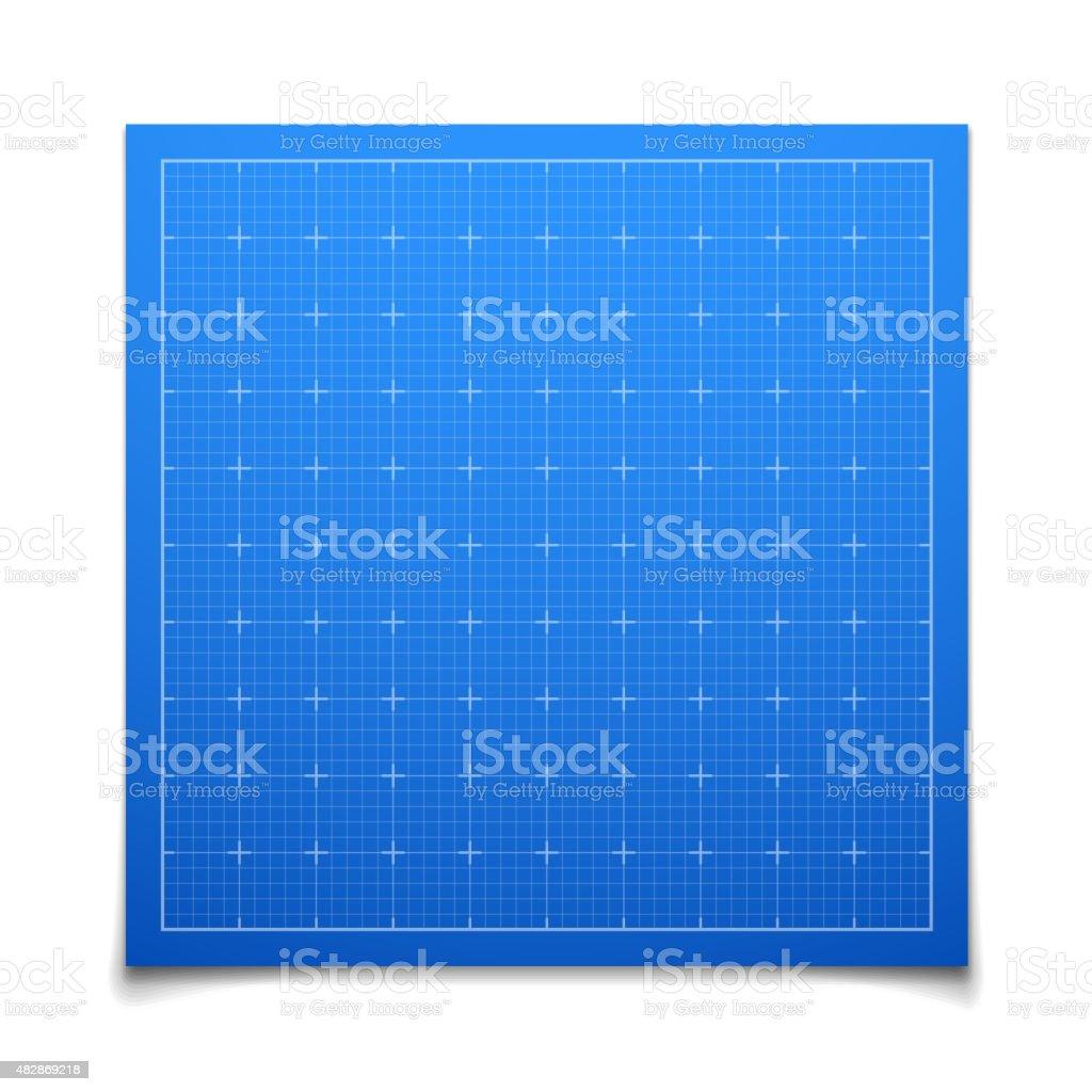 青色絶縁角型グリッドと影 1インチのベクターアート素材や画像を多数ご