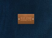 istock Blue jeans texture background. Vector illustration. 1277385306