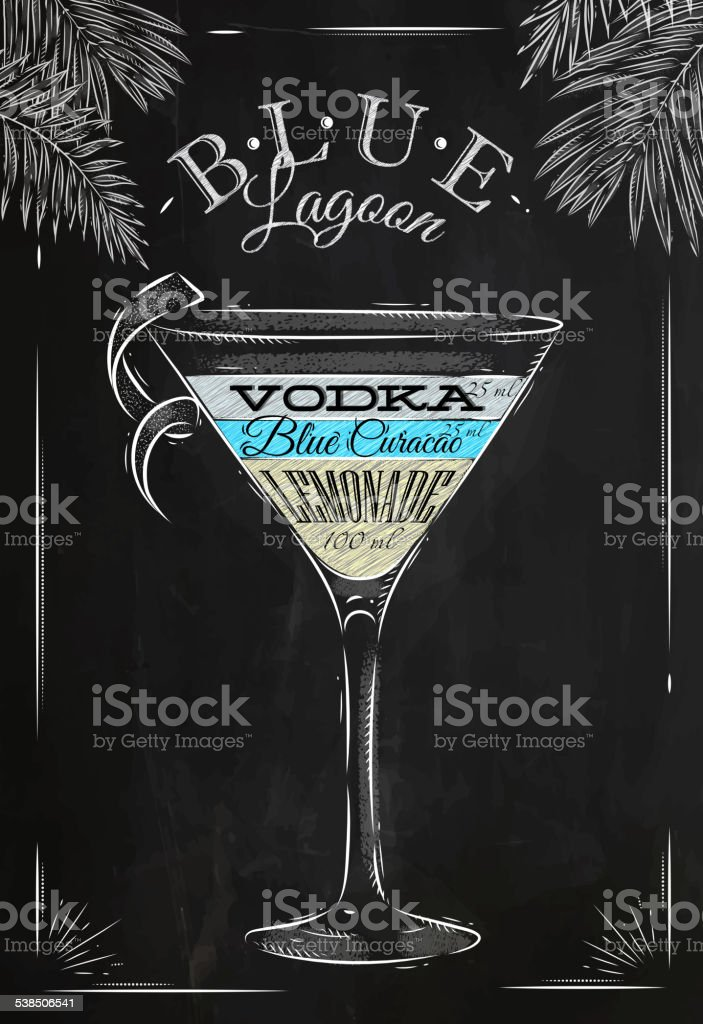 royalty free blue lagoon cocktail clip art  vector images  u0026 illustrations